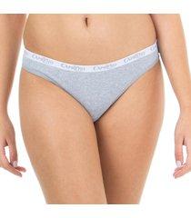 calcinha biquíni algodão mescla capricho - 382.022 capricho lingerie básica multicolorido