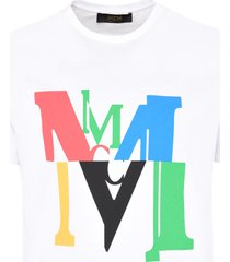 mcm cotton crew-neck t-shirt