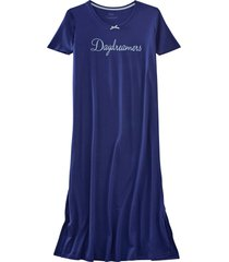 camicia da notte lunga (blu) - bpc bonprix collection