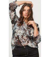 blus mdua 3/4 blouse