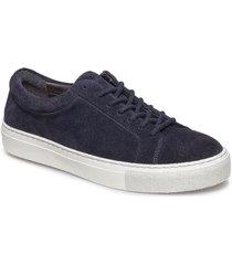 elpique suede shoe låga sneakers svart royal republiq