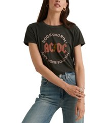 lucky brand ac/dc graphic t-shirt