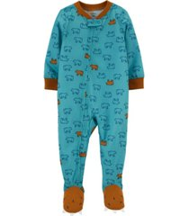 carter's baby boy 1-piece loose fit footie pjs