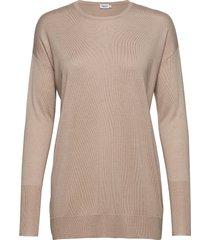 silky fine knit sweater gebreide trui beige filippa k
