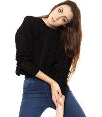 sweater negro exótica gala