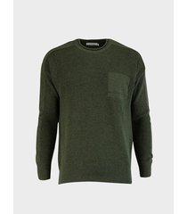 suéter cuello redondo para hombre 12701