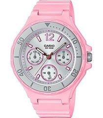 reloj casio modelo lrw-250h-4a2v rosa hombre