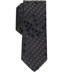 inc men's solid sequin tie, created for macy's