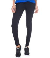 calça legging fila life matte - feminina - preto