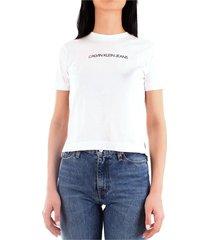 calvin klein j20j212879 t-shirt women white