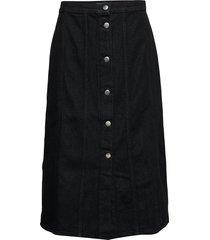 elissa skirt knälång kjol svart nué notes