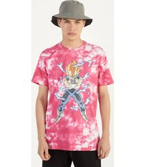 dragon ball z x bershka tie-dye t-shirt