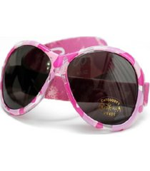 banz retro baby girls wrap around sunglasses