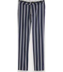scotch & soda stretch trousers
