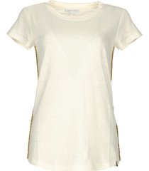 t-shirt goldline  wit