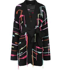 canessa embroidered cardigan