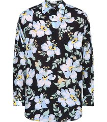 floral pattern shirt