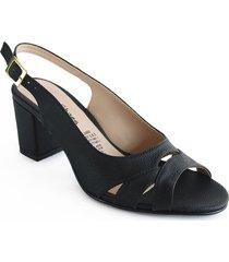 priceshoes calzado dama ejecutivo tacon 5421002negro