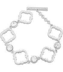 t tahari moroccan metals link bracelet