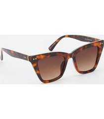 maurices womens twelve™ tortoise cat eye sunglasses brown