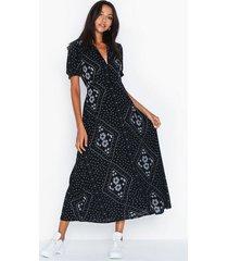 vero moda vmnice s/s ancle dress exp klänningar