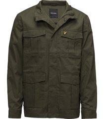 field jacket tunn jacka grön lyle & scott