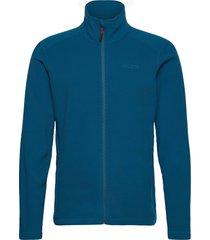 corsica 100gm fleece sweat-shirts & hoodies fleeces & midlayers blå musto