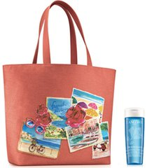 receive a free tonique radiance travel size and tote bag with any $50 lancome purchase