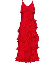 abito con volant (rosso) - bodyflirt boutique