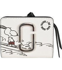 marc jacobs peanuts x the mini compact wallet marc jacobs
