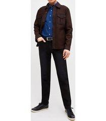 chaqueta leather shirt trial