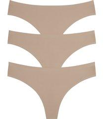 women's honeydew intimates skinz 3-pack thong