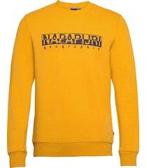 bolanos c sweat-shirt tröja gul napapijri