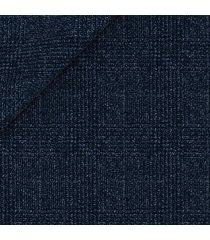 pantaloni da uomo su misura, lanificio zignone, flanella lana cashmere blu, autunno inverno | lanieri