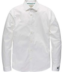long sleeve shirt comfort satin white