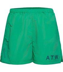 halo atw nylon shorts badshorts grön halo
