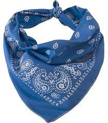 bandana azul bohemia