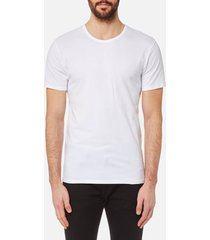 calvin klein men's 2 pack crew neck t-shirt - white - xl