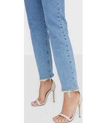 missguided basic barely pu heels high heel