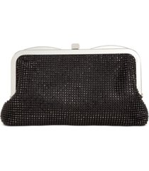 inc bo rhinestone mesh clutch, created for macy's