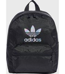 mochila small ac bl bp negro adidas originals