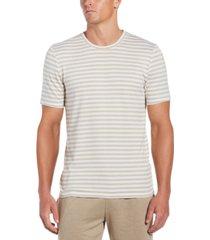 cubavera men's striped knit short-sleeve shirt