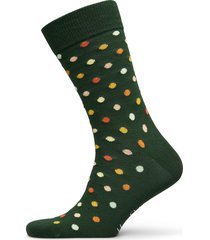 dot sock underwear socks regular socks grön happy socks