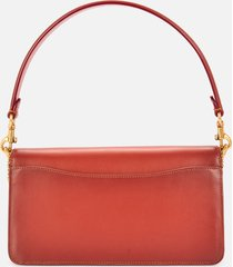 coach women's signature beadchain tabby shoulder bag 26 - tan rust