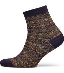 multicolour athena sock lingerie socks regular socks blå becksöndergaard