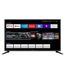 "smart tv britânia 42"" btv42g70n5cf full hd led - netflix bivolt"