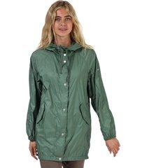 womens essentials nylon rookie parka jacket