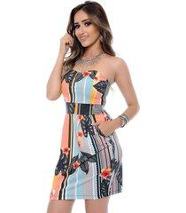 vestido b bonnie melissa colorido