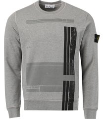 fitted graphic sweatshirt