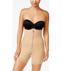 leonisa women's firm tummy-control wyob strapless thigh-slimmer 018486
